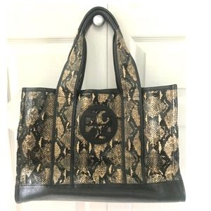 Tory Burch Snakeskin Pattern Bag